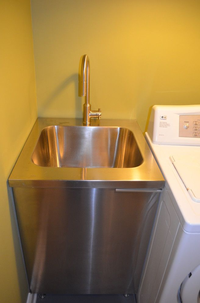 Nice Beautiful Slop Sink In Basement Contemporary With Garage Sink Next To  Utilityu2026 | Mette Laundry | Pinterest | Garage Sink, Utility Sink And  Basements
