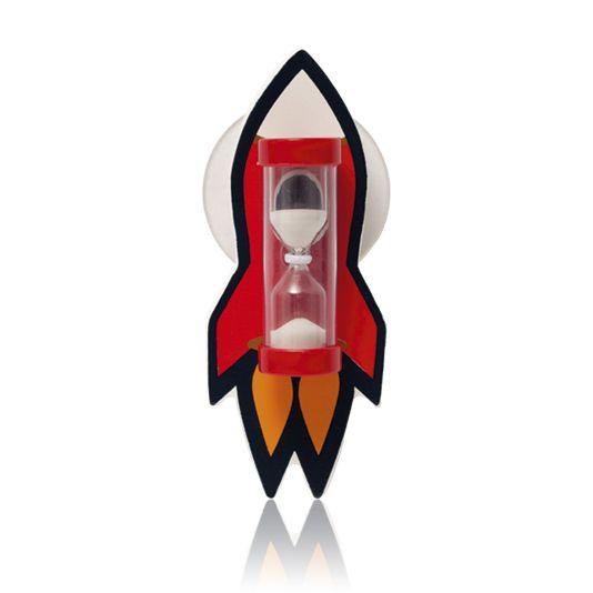 Přesýpací hodiny raketa