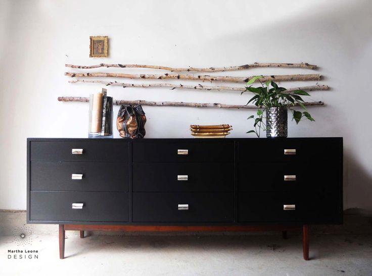 SAMPLE: 9 Drawer Mid Century Dresser by MarthaLeoneDesign on Etsy https://www.etsy.com/listing/230938980/sample-9-drawer-mid-century-dresser