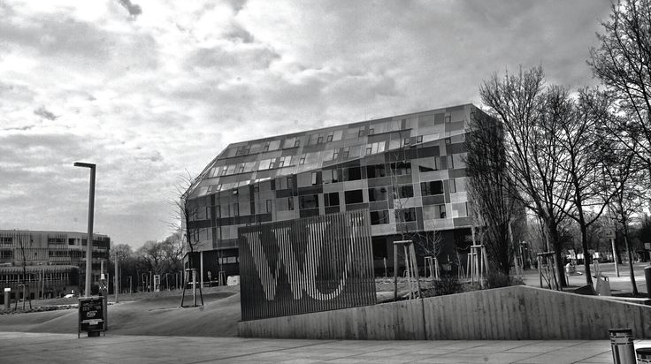 The new building of Vienna University. Photo by Adhi Rachdian
