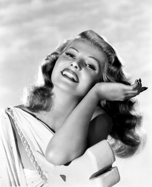 Rita HAYWORTH X1 ***** #19 AFI Top 25 Actresses, (1918-1987) - married 5 times. Her third husband was Prince Aly Khan, so becoming a fairy tale princess 7 years before Grace Kelly. A great beauty, and a great dancing talent, with enviable technique, natural stamina and rhythm. Many felt she was the best screen partner of Fred Astaire. Over her 37 year career she appeared in 61 movies but won no Oscars or nominations.