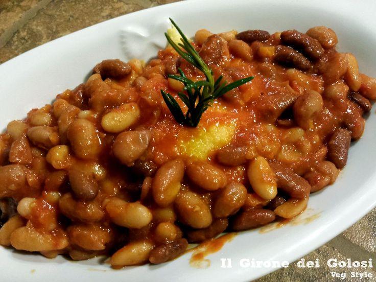 Polenta e fagioli è un piatto unico dal sapore invernale. Usate fagioli in barattolo e polenta istantanea per un piatto velocissimo
