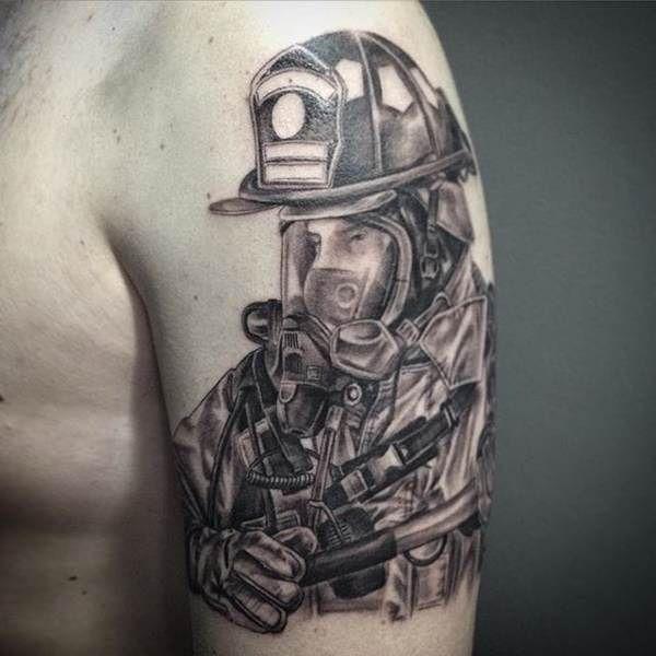 10 пожарных татуировок, которые стоит себе сделать: pozar_ru ... | 600x600