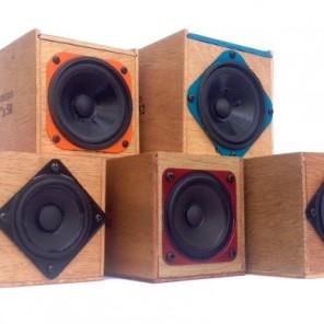 TableTop Boomboxes by DomeCandy for BourbonandBoots.com