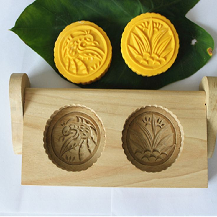 Cheap wood temperature, Buy Quality wood studies directly from China cake craft Suppliers: 2016 New high quality handmade 2 holes wood pasta / pastry / pumpkin pie/moon cake mold-flower pattern