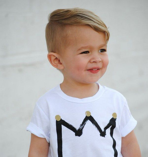 Pin By Ashley E Evans On Connor Cute Boys Haircuts Baby Boy