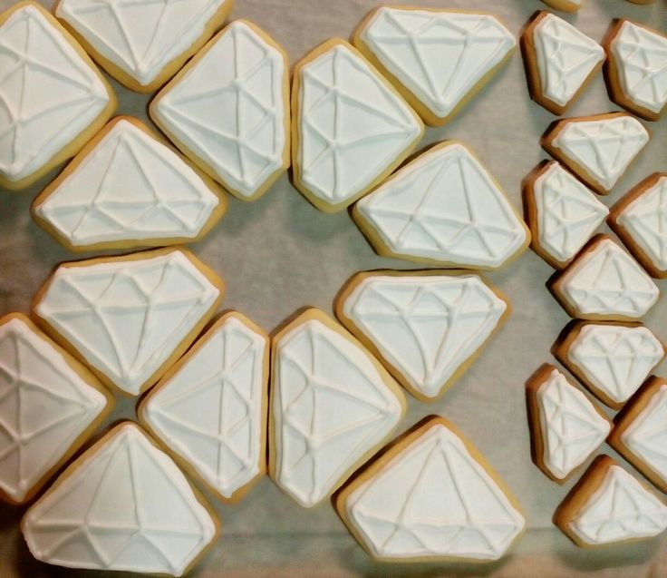 Crystal 💎 diamond  Sugar cookies  #handmade_by_adni