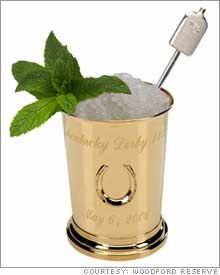The Mint Julep perfect for big hats and lovely days at the races or comfy sandals on the porch swing at home. I love this cocktail