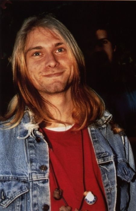 Kurt Cobain--- had a very weird dream about him this morning and woke up and began to cry. I miss him so much.