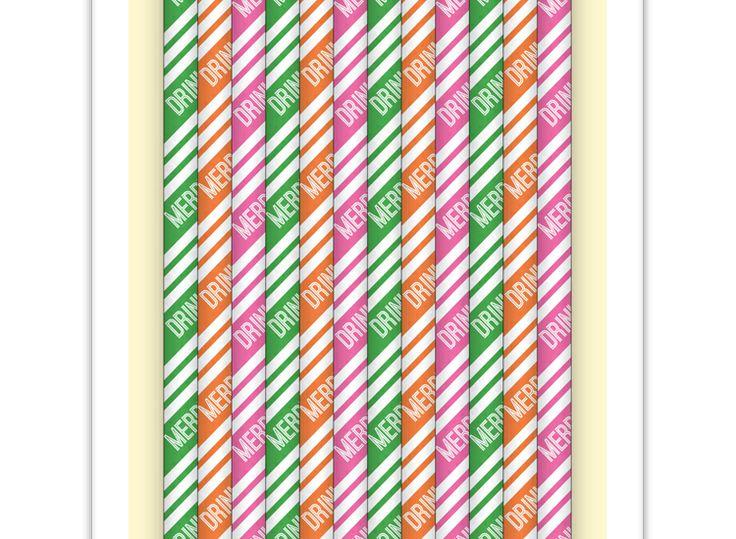 Oh-So-Merry Straws
