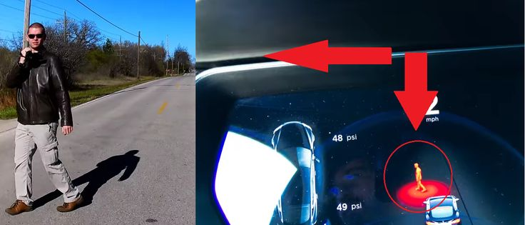 Tesla Autopilot significantly improved pedestrian detection in v8 update tests show; now renders humans http://ift.tt/2gdkC8y
