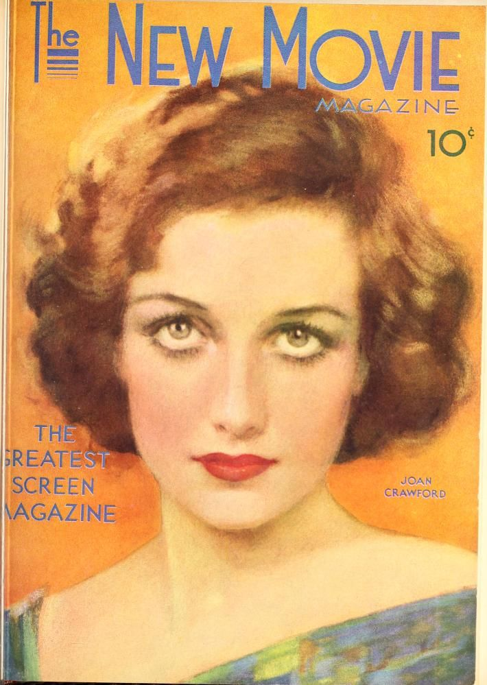 Joan Crawford The New Movie Magazine