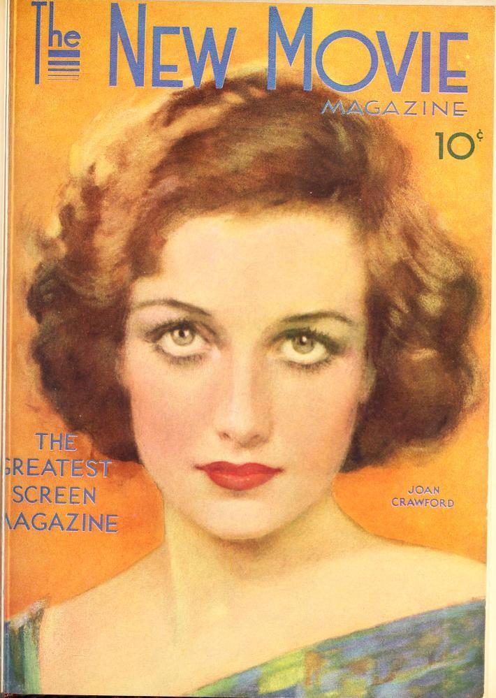 Joan Crawford The New Movie Magazine