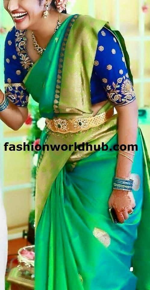10 Maggam Work Blouses Trending now | FashionWorldHub.com: