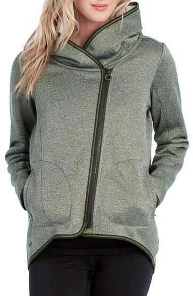 Lole 'Ardeen' Hooded Sweater Jacket available at #Nordstrom