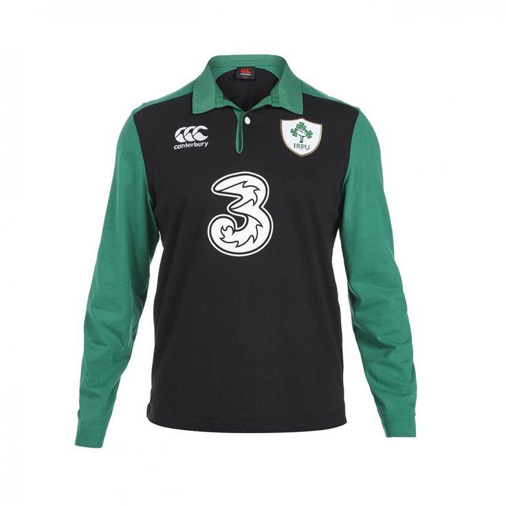 ireland alternate classic ls rugby shirt kids sport football