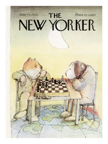 The New Yorker Cover - June 24, 1974 Poster Print by Andre Francois at the Condé Nast Collection