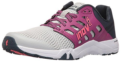 Inov8 Womens All Train 215 Cross Training Light GreyPurpleNavy W85  Visor * Read more reviews of the product by visiting the link on the image.