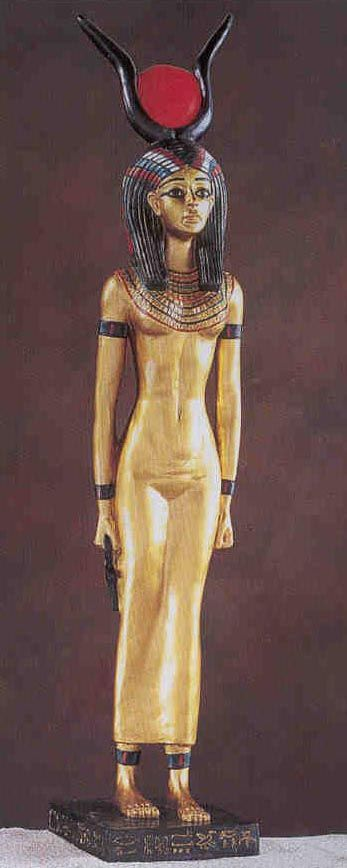 Isis: A goddess of fertility, wife of Osiris and mother of Horus. Her worship spread to western Asia, Greece, and Rome, where she was identified with various local goddesses