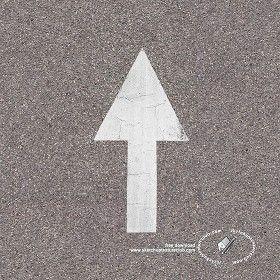 Textures Texture seamless | Road markings arrow texture seamless 18768 | Textures - ARCHITECTURE - ROADS - Roads Markings | Sketchuptexture