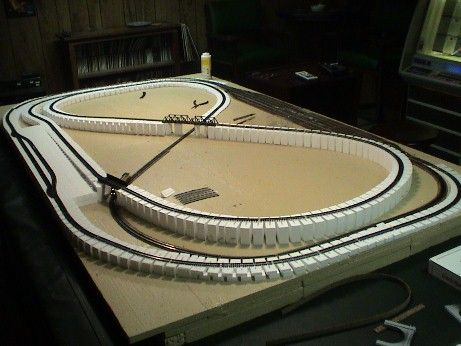 N scale layout 3 modelspoor pinterest scale and model train - Ho scale layouts for small spaces concept ...