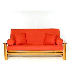 Lifestyle Covers Orange Full-size Futon Cover | Overstock.com Shopping - The Best Deals on Futon Covers