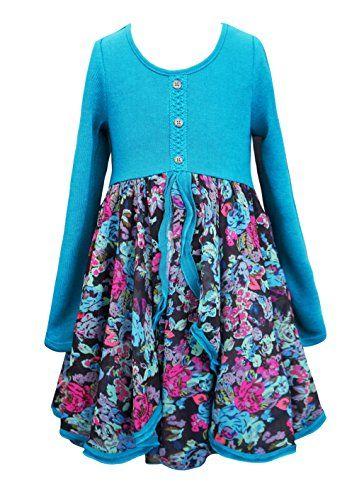 c20cad75637d Truly Me Big Girls Tween Cascading Ruffle Chiffon Dress