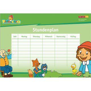 Dein Pinocchio Stundenplan für die Schule! Andere tolle Sachen zum Basteln findest du hier: http://studio100.de/fur-zu-hause/basteln/ #Stundenplan #Pinocchio