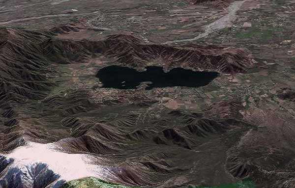 Plano Laguna Aculeo