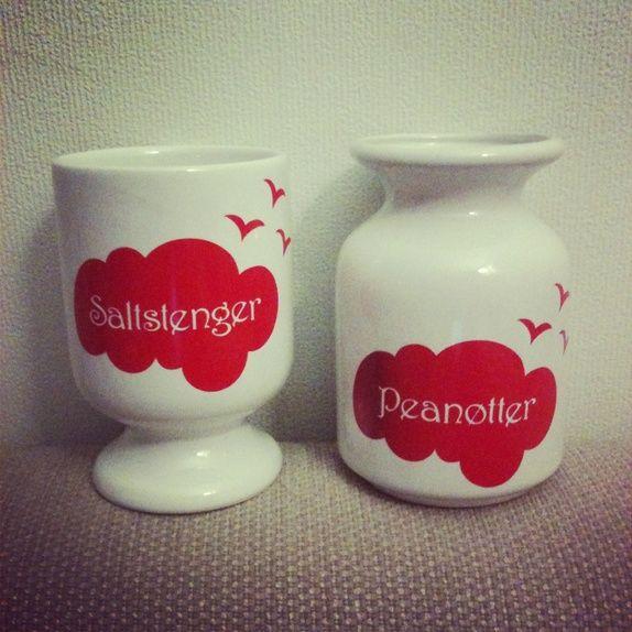 RETRO Saltstenger og peanøtter