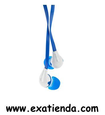 Ya disponible Auricular NGS blue peanut 3.5mm    (por sólo 9.95 € IVA incluído):   - Si lo qué buscas es comodidad sin tener que renunciar a las últimas tendencias, NGS tiene la solución. Blue Peanut es tu auricular de botón ergonómicos, con el que podrás disfrutar de tus canciones preferidas y trasladarte a otra dimensión.  - Especificaciones Técnicas: Tamaño del altavoz: 10mm Gama frecuencia: 18-20.000Hz Sensibilidad: 116±3dB (1 kHz) Impedancia: 16and#937; Lon
