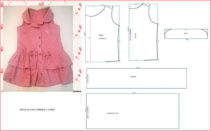 How to make different type of frock – Easy Craft Ideas