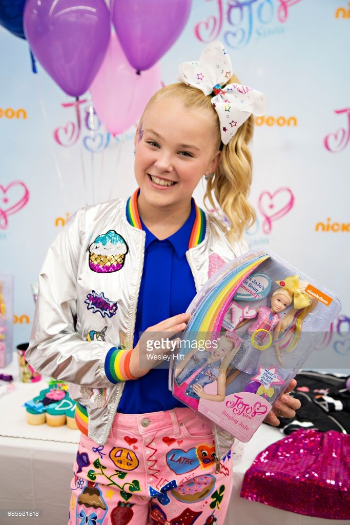 Nickelodeon's JoJo Siwa Celebrates Her Birthday at Walmart and unveils her New Line of Consumer Products on May19, 2017 in Rogers, Arkansas.