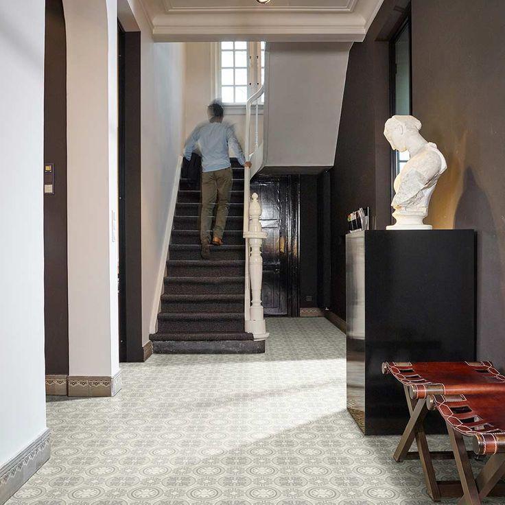 PVC Boden Retro Chic Lisbon 900L | 4m Bodenbeläge PVC Belag 4,00 m Rollenbreite