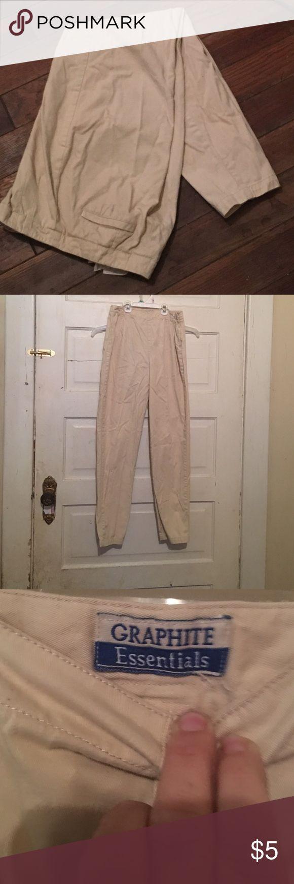 Kaki pants Casual kaki pants Graphite Essentials Pants Straight Leg