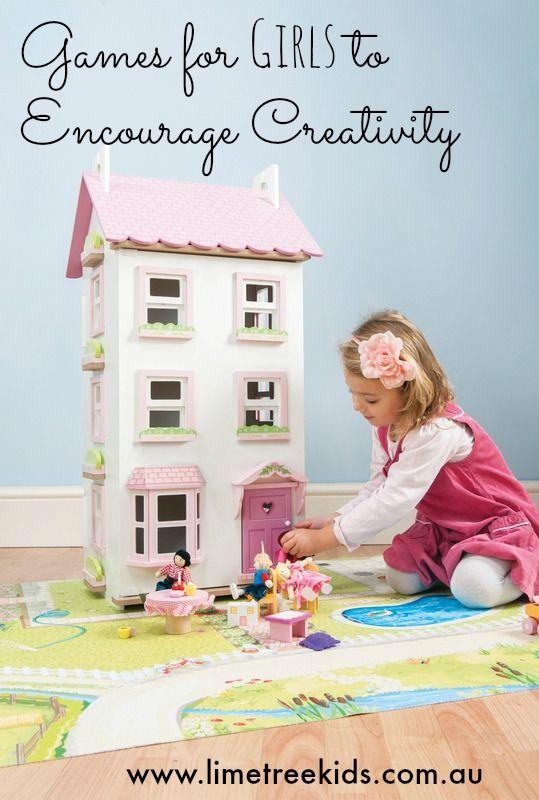 Games for Girls to Encourage Creativity #limetreekids #play #kids #fun #limetreemummablog