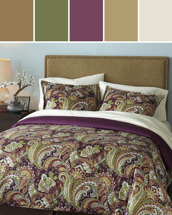 Shangri La Paisley Bedding   Duvet   Full Queen Designed By Pier 1 Imports. 97 best images about Decor Ideas From Pier 1 Imports on Pinterest