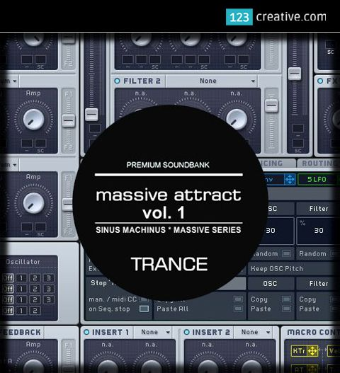 ► Presets for MASSIVE - Attract Vol. 1 - Epic Trance sound bank. New jaw-dropping presets for TRANCE, PSYTRANCE, TECHNO, electronic dance music. Each preset sound has been crafted with meticulous attention to detail. Learn more: https://www.123creative.com/electronic-music-production-massive-presets/1448-massive-attract-vol-1-epic-trance-sound-bank-for-ni-massive.html #presetsforMassive