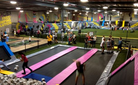 Bounce Inc - the hottest place to be on a rainy day...