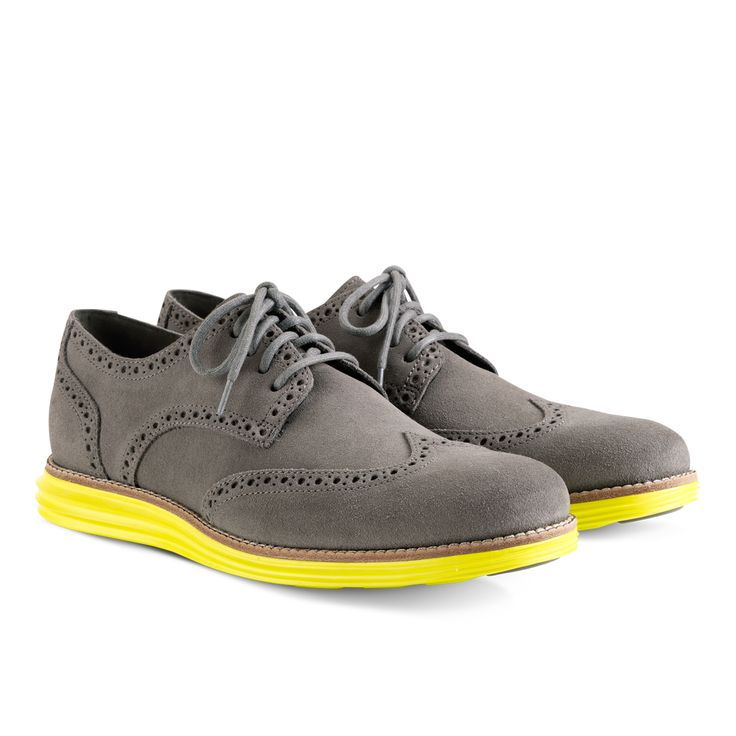 Cole Haan Dress Shoes with Nike Luon Soles.