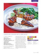 Tandoori chicken with lime raita - Recipe Collection: Healthy Food Guide - 2016-07-16 : Page 25