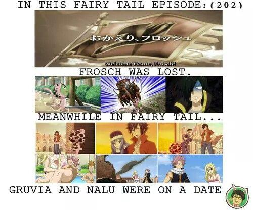 Fairy Tail Nalu and Gruvia