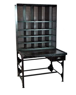 Repurpose Vintage Metal Industrial Desk