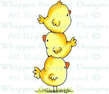 Chicks Dig Me - Chickens - Animals - Rubber Stamps - Shop