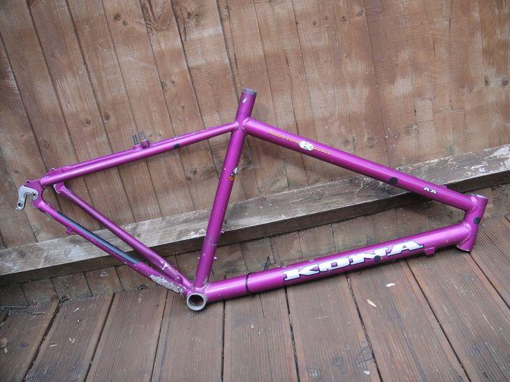#1994 Kona AA retro mountain bike frame Like, Repin, Share, Follow Me! Thanks!