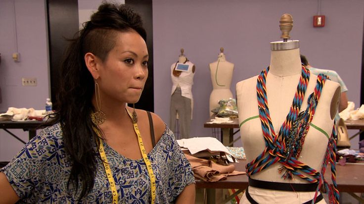 Tim Critiques Anya Ayoung-Chee: Episode 2 - Project Runway Full Episodes & Videos - myLifetime.com