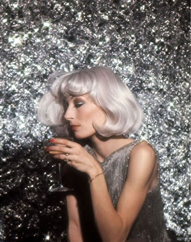 Anjelica Huston by Richard Avedon, 1976