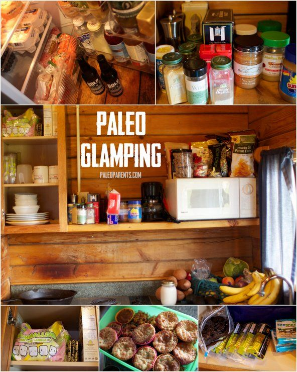 How to camp Paleo style. Paleo Glamping on PaleoParents