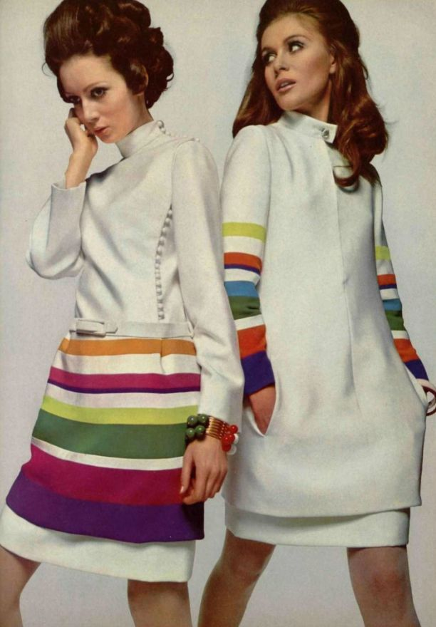 1968 style of Jeanne Lanvin | the color of the day is... autumn ...
