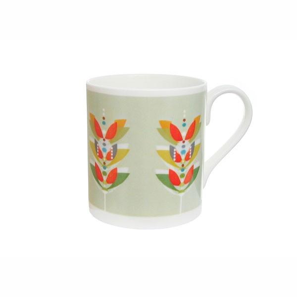 Mint Flowerpop Mug